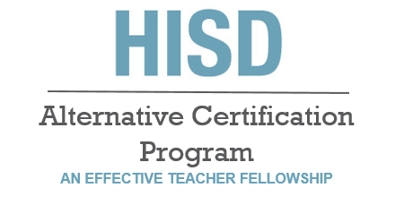 Hisd Alternative Certification Program Homepage