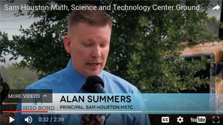 Sam Houston Math, Science and Technology Center / Homepage