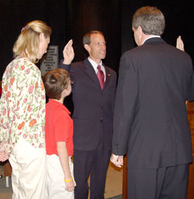 Greg Meyers Sworn In