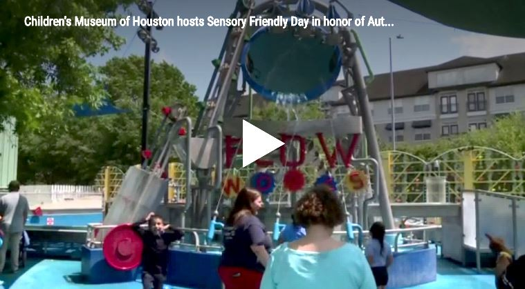 Children's Museum of Houston hosts Sensory Friendly Day in honor of Autism Awareness Day