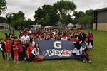 Houston Texans' Gatorade Junior Training Camp at Southmayd ES