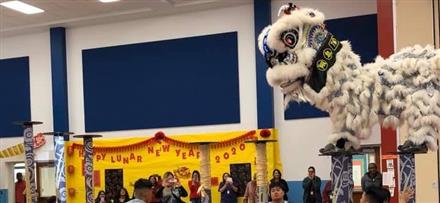 Lunar New Year Soars Into Deanda