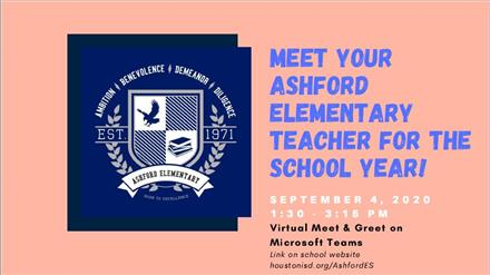 Virtual Meet & Greet the Teacher