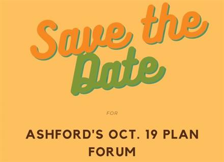 Save the Date for our Oct. 19 Plan Forum