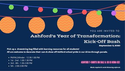 Ashford Kick-off Bash!