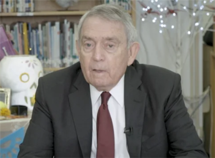 Dan Rather visits Love ES