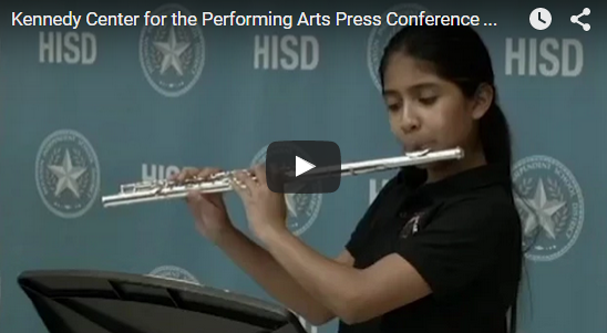 Kennedy Center for the Arts teams up with HISD to support arts programs