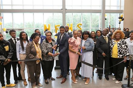 North Forest HS holds grand opening celebration