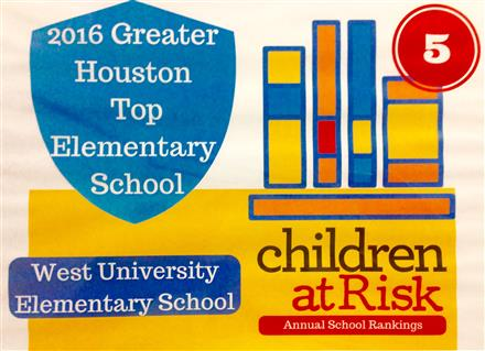 2016 Greater Houston Top Elementary School