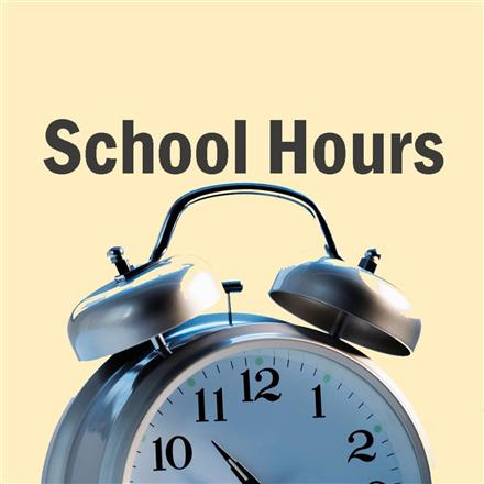 SCHOOL HOURS!             7:30 am - 2:50 pm