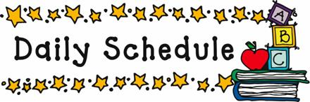 Daily Schedules Updated 10/19/2020