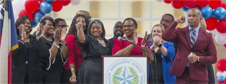 Kashmere High School rewrites history by earning passing grade
