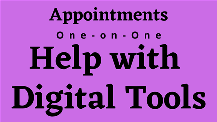 Digital Tools Appointments