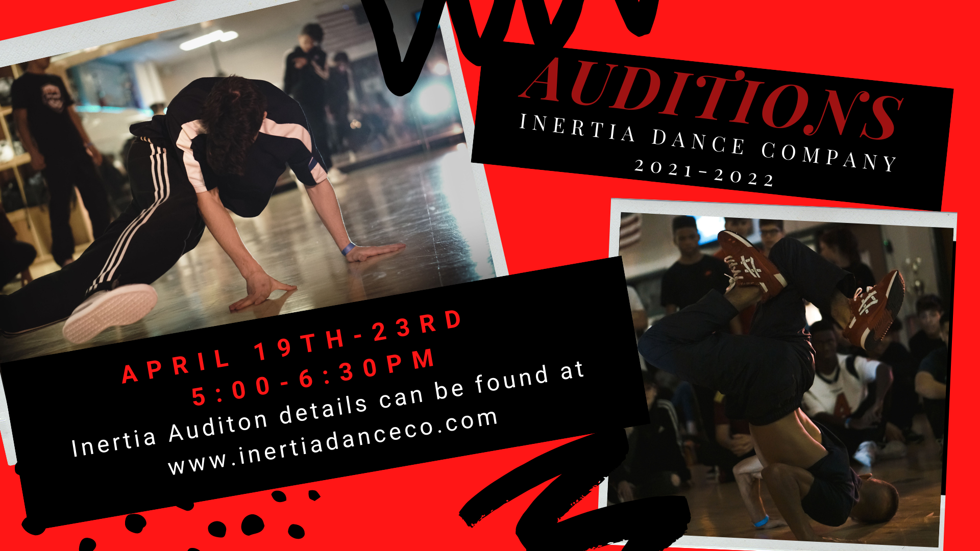 Inertia Dance Company Auditions
