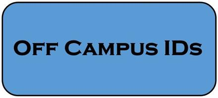 Off Campus ID Information
