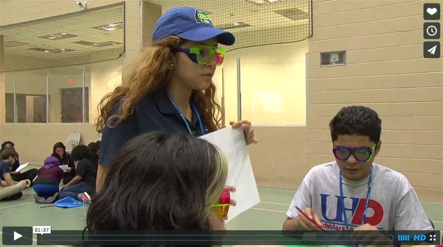 District's Petroleum Academies show off their talents at the Shell STEM Showdown