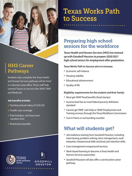 HHS Path to Success flyer