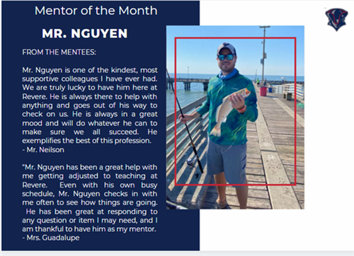 Mentor of the Month November