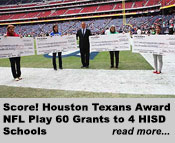 Houston Texans Award NFL Play 60