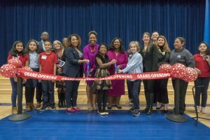 Askew ES celebrates new facility with student-led ceremony