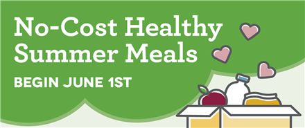 Summer Meals at Rucker ES!
