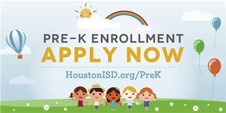 Enroll Now for PK (3- and 4-year-olds)