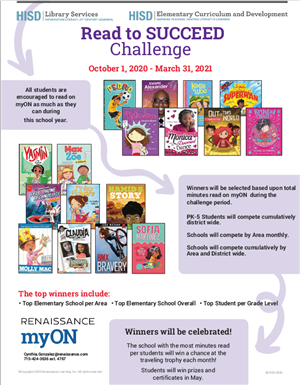 MyOn Read to Succeed Challenge