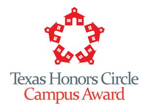 texas honors circle campus award
