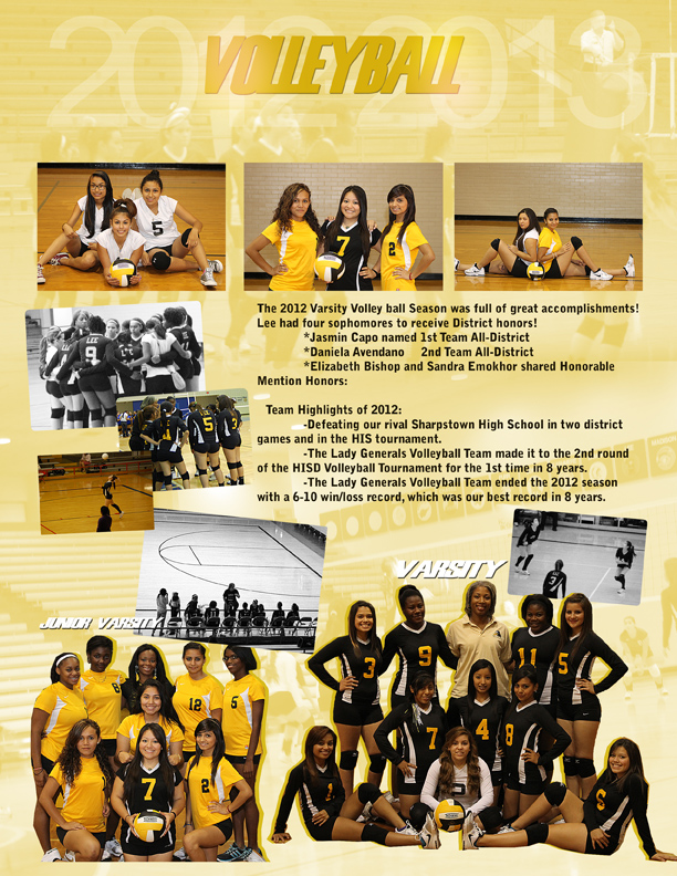 Volleyball Team 2012-2013
