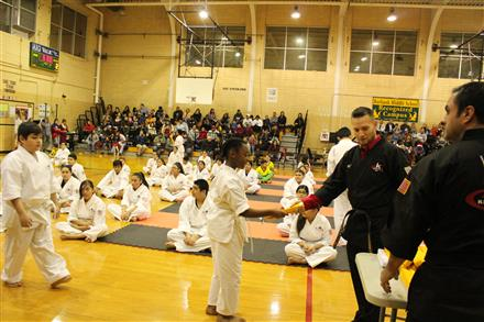 Karate Belt Ceremony Fall Semester
