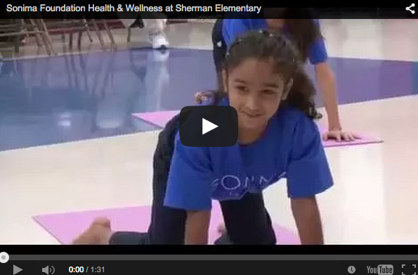 HISD, Sonima Foundation celebrate expansion of student wellness program