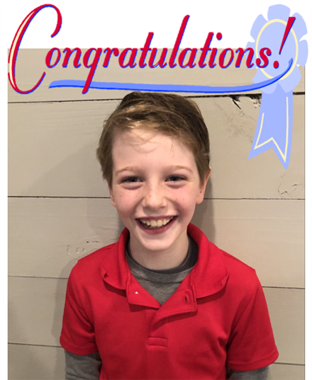 We are so proud of our Texas History Essay Contest Finalist, Leo Hansen!