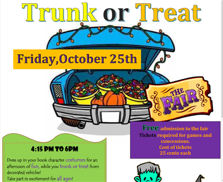 Rucker Trunk or Treat