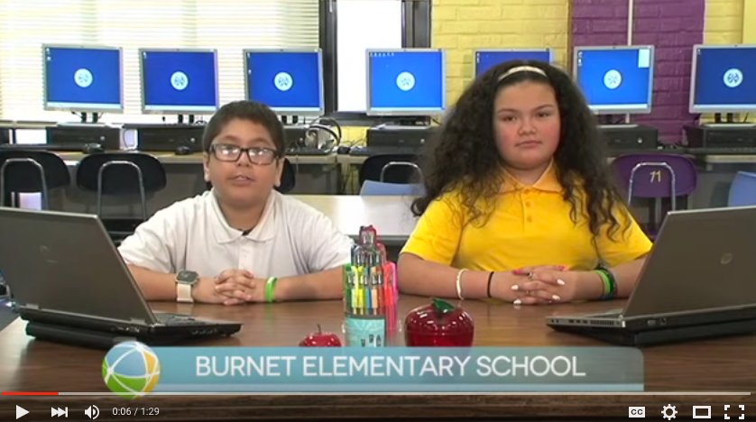 HISD Current Events Burnet Elementary School