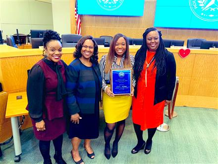 South Area HISD Principal of the Year