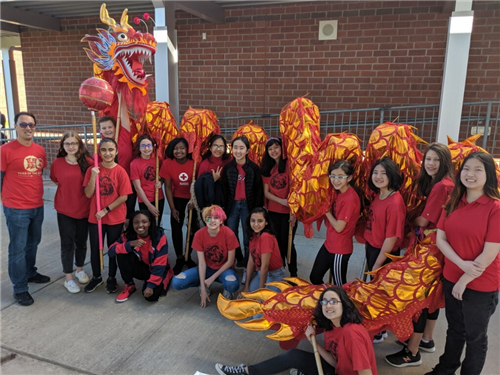 MIMS Dragon Dance Team 2020