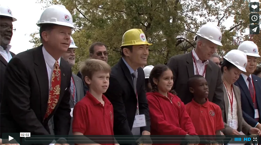 Ground-Breaking Ceremony for the new Mandarin Immersion Magnet School