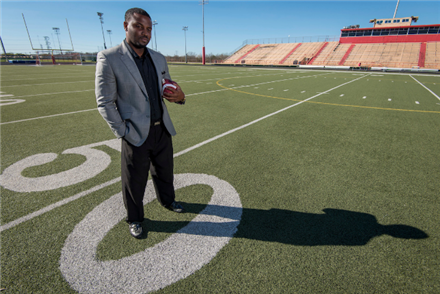I Am HISD: Former Westbury HS football player becomes first African-American stadium director at Butler
