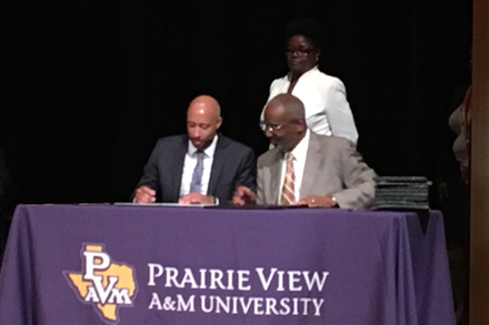 Prairie View A&M University Academic Signing Day