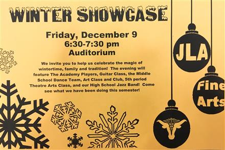 JLA Winter Showcase 2016