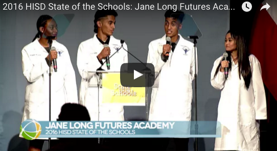 2016 HISD State of the Schools: Jane Long Futures Academy
