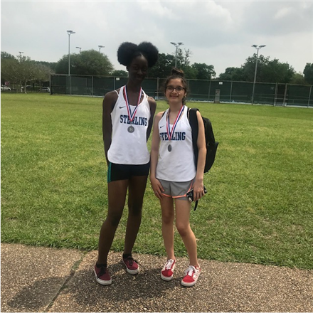 Congratulations to Franchelle Tyler and Sylvia Padron for winning 2nd place -advancing to Regionals in Girl's Doubles Tennis ***Congratulations to Ahlayah Clark and Carlos Cardenas on their 3rd place Mix Doubles accomplishment.