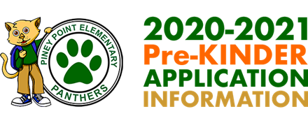 2020-2021 PRE-KINDER APPLICATION