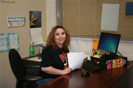 Mrs. Reyes, Attendance Office Clerk
