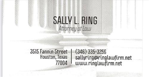 Sally L. Ring Attorney at Law
