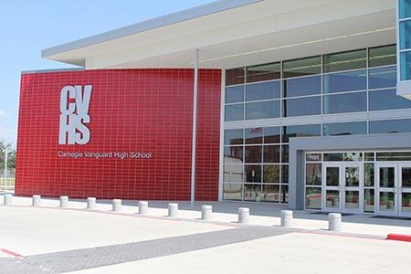 Green Schools Carnegie Vanguard Hs Leed