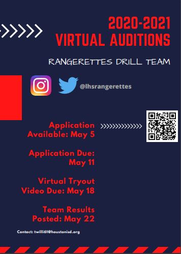Virtual Auditions 2020-2021