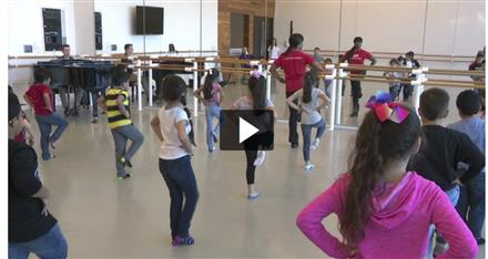 "Children given ""A Chance to Dance"""