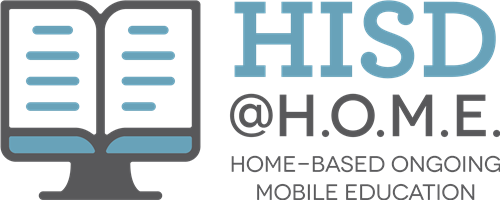 HISD @HOME WEBINAR SERIES FOR PARENTS