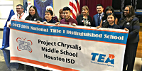 Project Chrysalis MS named Title I National Distinguished School